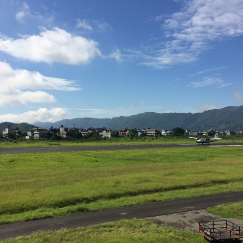 صورة من مطار بوكارا