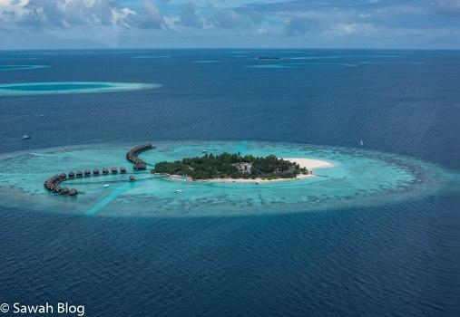 كثير من الجزر يضم منتجع واحد فقط